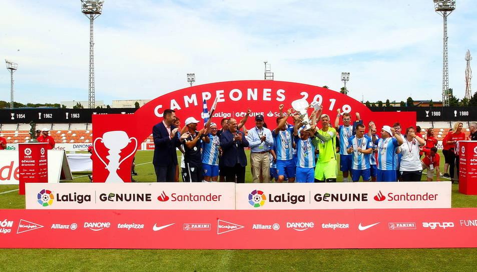 El Málaga va ser un dels vencedors de la Lliga, que va celebrar la seva darrera jornada a València.