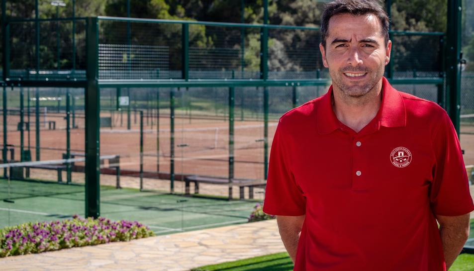 Xavi Pueyo serà el responsable de les seccions de tennis i pàdel al Costa Daurada.