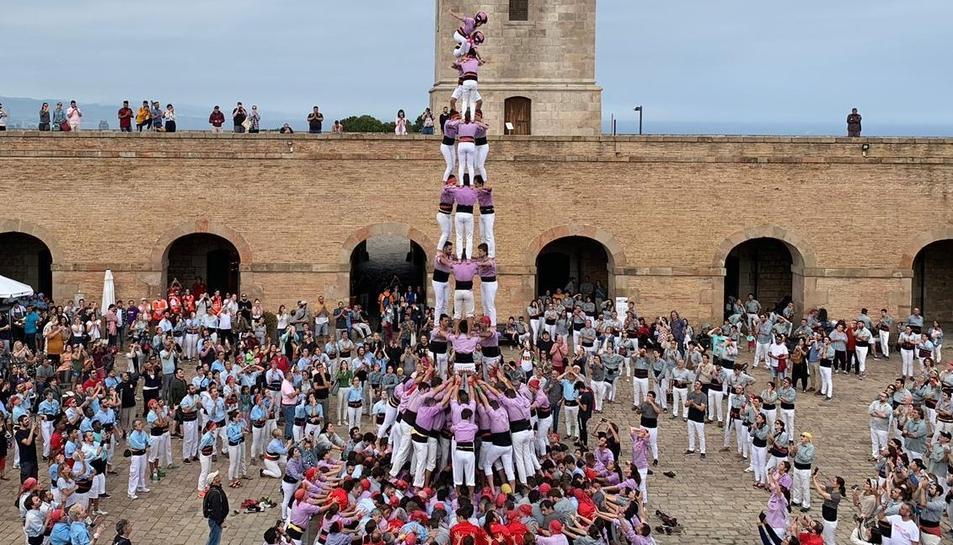 La Jove de Tarragona va estrenar els galons de nou al Castell de Montjuïc.