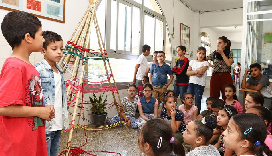 Exposició 'Arquisteam' a l'Escola Marià Fortuny