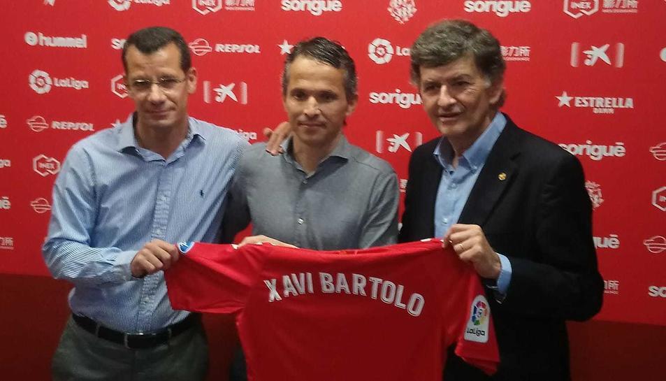 Sergi Parés, Xavi Bartolo i Josep Maria Andreu