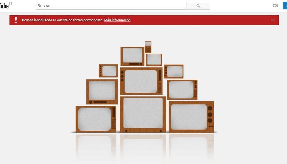 Vox assegura que el tancmeat el seu canal en aquesta plataforma