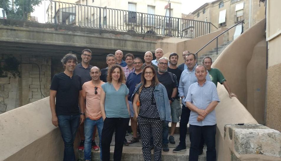 Imatge dels membres de la nova junta de la