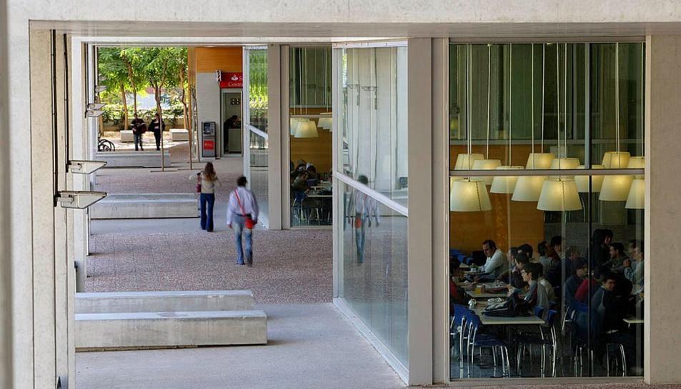 Imatge del Campus Sescelades de la URV.