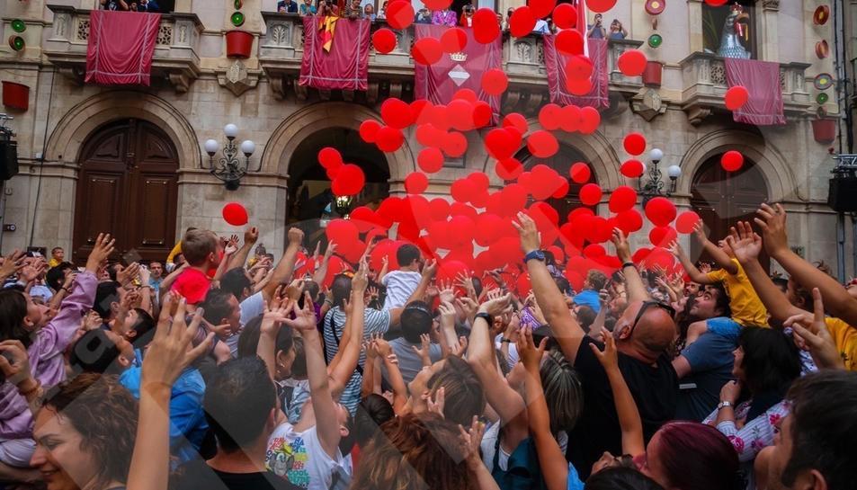 Engega la festa major de Sant Joan de Valls