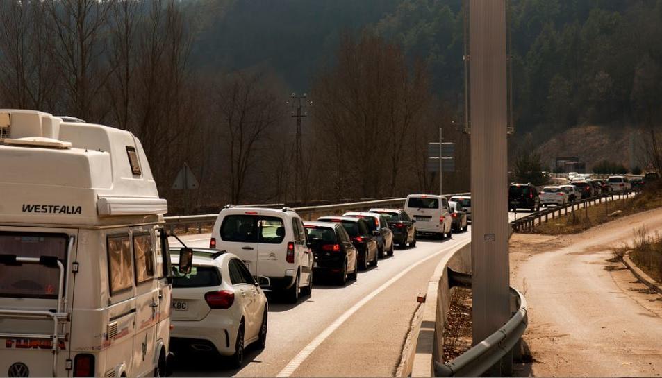 El conseller d'Interior ha demanat «paciència i prudència» a tots els conductors en l'operació tornada.