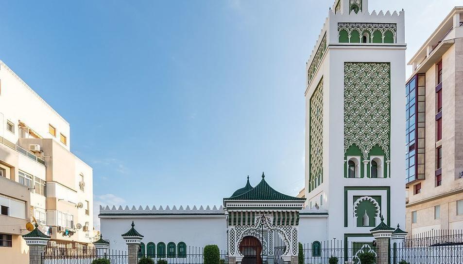 Imatge de la mesquita Muley el Mehdi de Ceuta.