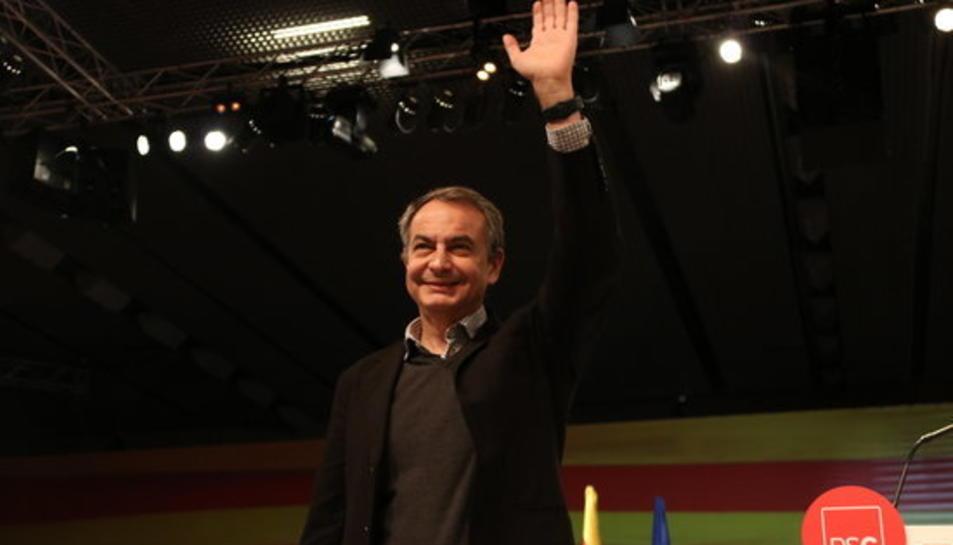Imatge d'arxiu de José Luís Rodríguez Zapatero.