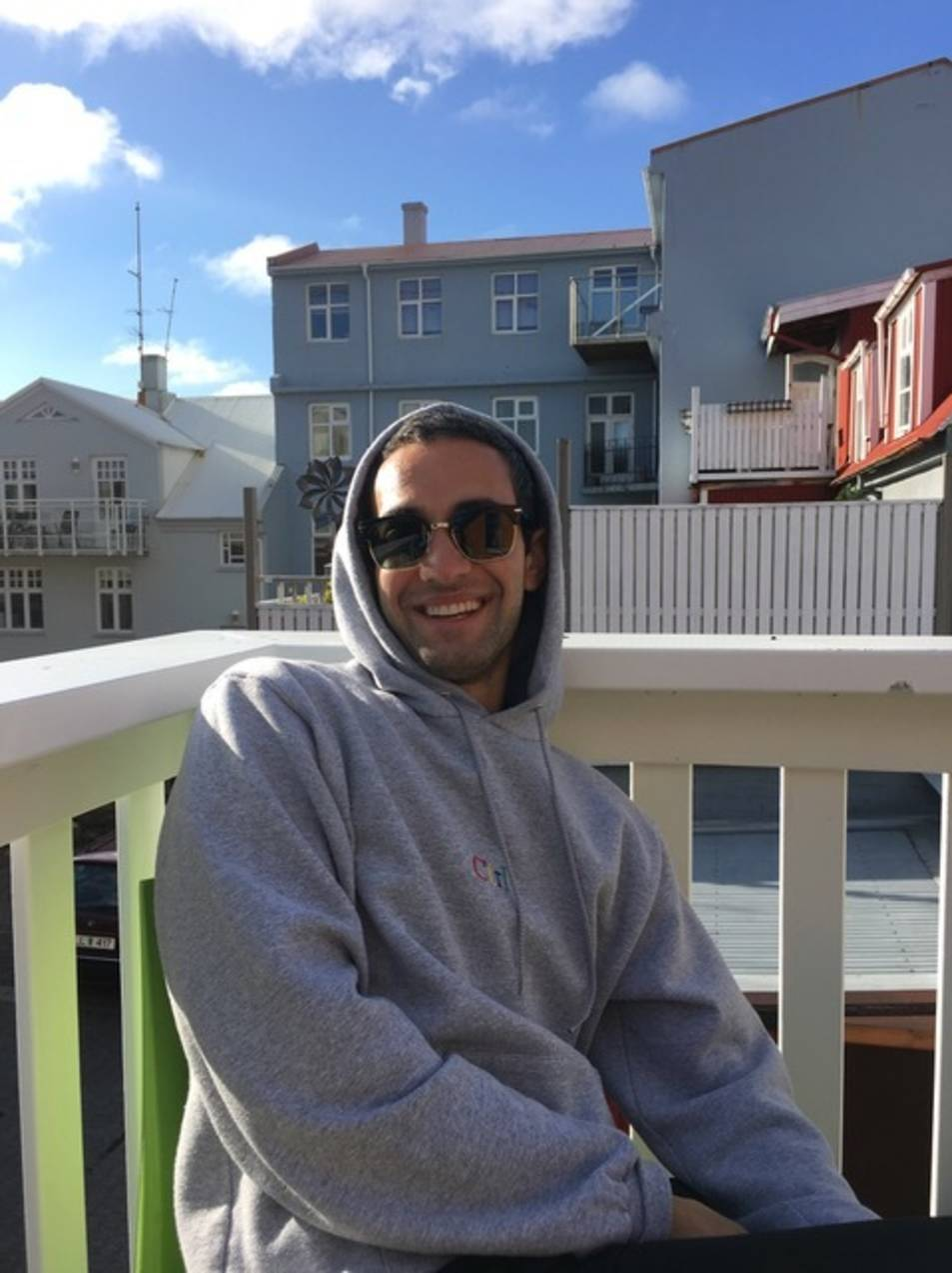 Daniel Crespo, a Islàndia.