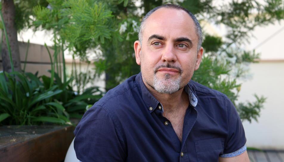 El fundador i director artístic de Deltebre Dansa, Roberto Olivan, en un primer pla el dia de la presentació de la 15a edició del festival.