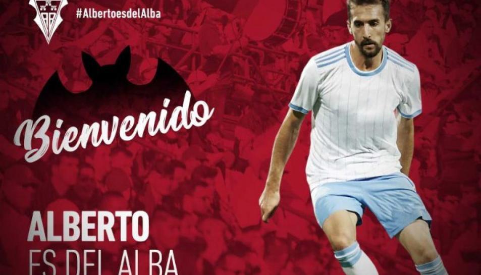 L'Albacete ha anunciat aquest divendres el fitxatge d'Alberto Benito.