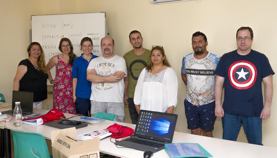 Imatge dels alumnes que han iniciat el curs aquest juny.