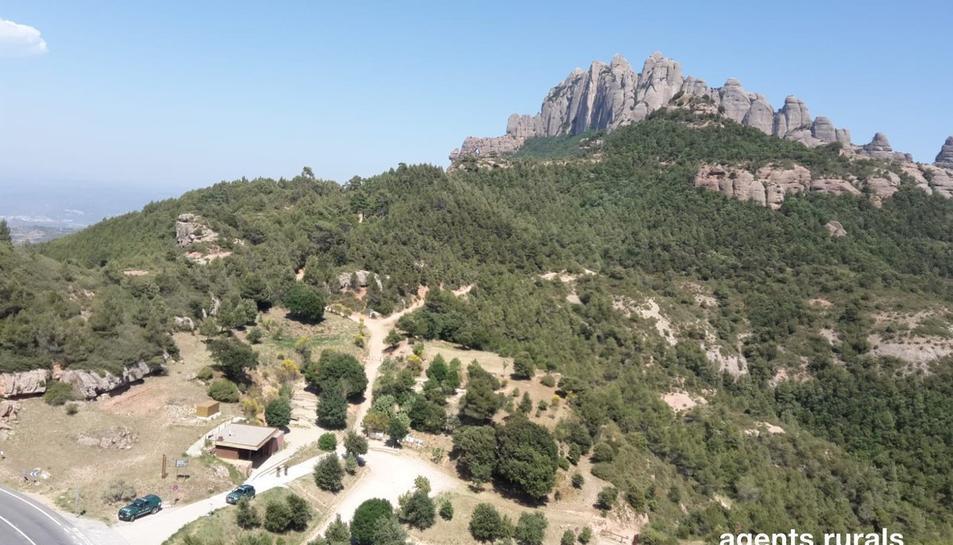 Es manté la restricció d'accés a Montserrat.