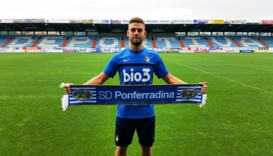 Goldar, quan va signar per la Ponferradina