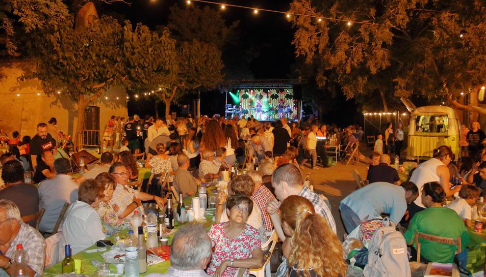 Imatge de la Festa de la Granja durant l'edició de 2018.