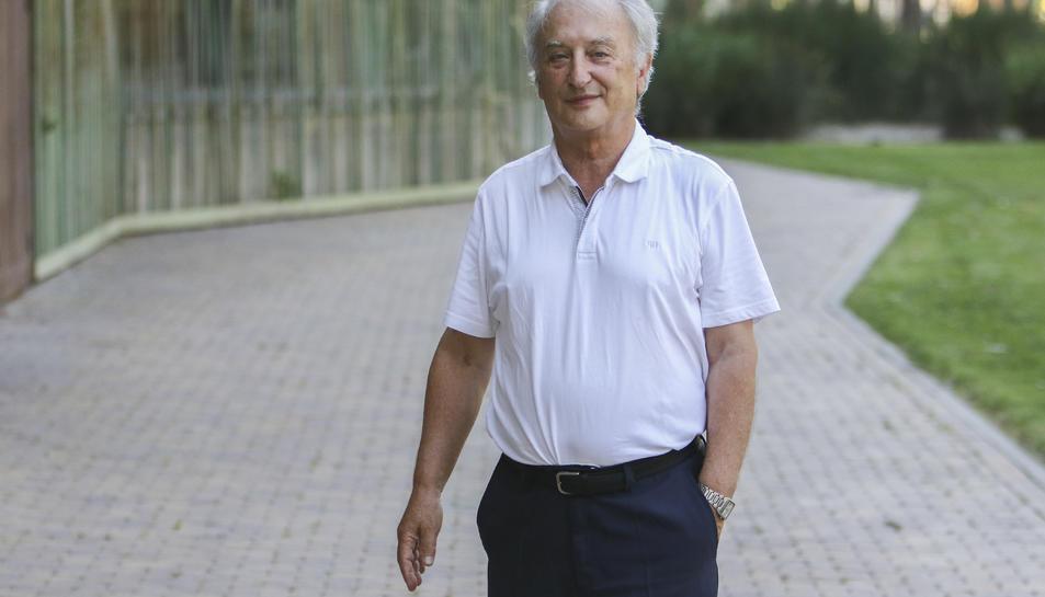 Robert Vallverdú, aquest dimarts a Tarragona.