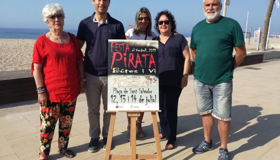 Imatge de la presentació de la Festa Pirata de Sant Salvador.