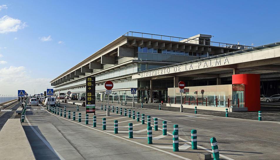 Imatge de l'aeroport de Palma, on han estat detinguts.