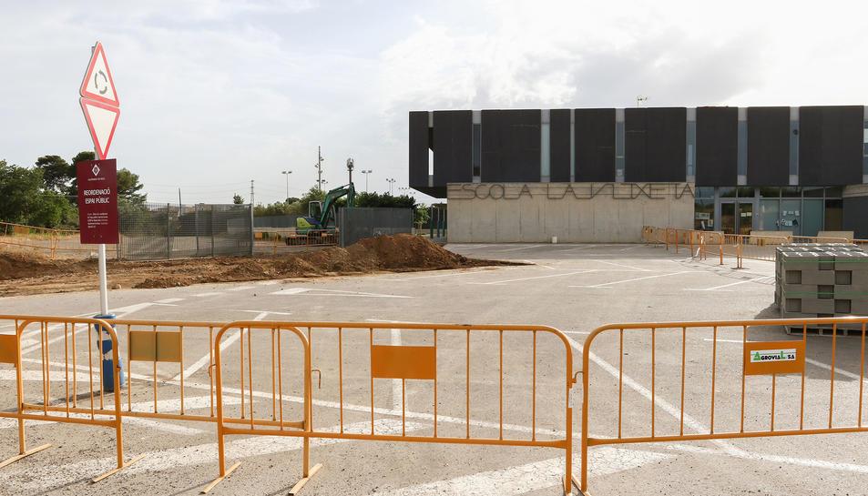 Les tasques de reestructuració de l'espai públic i viari han començat aquesta setmana.