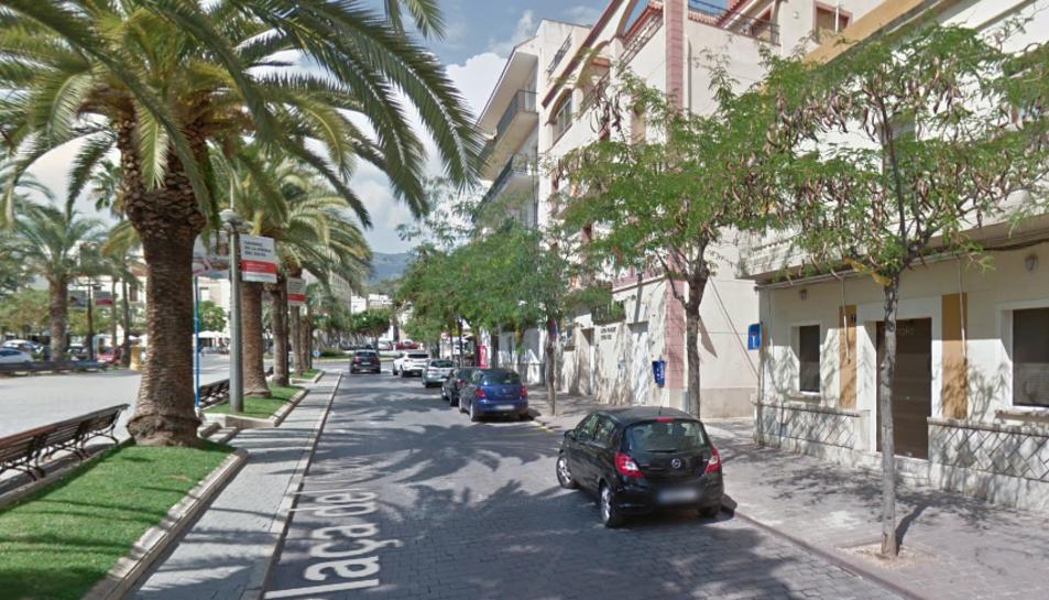 Els despreniment s'ha produït en una casa de la plaça del Coc.