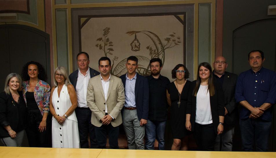 Ple constitució Ajuntament El Morell el passat 15 de juny.