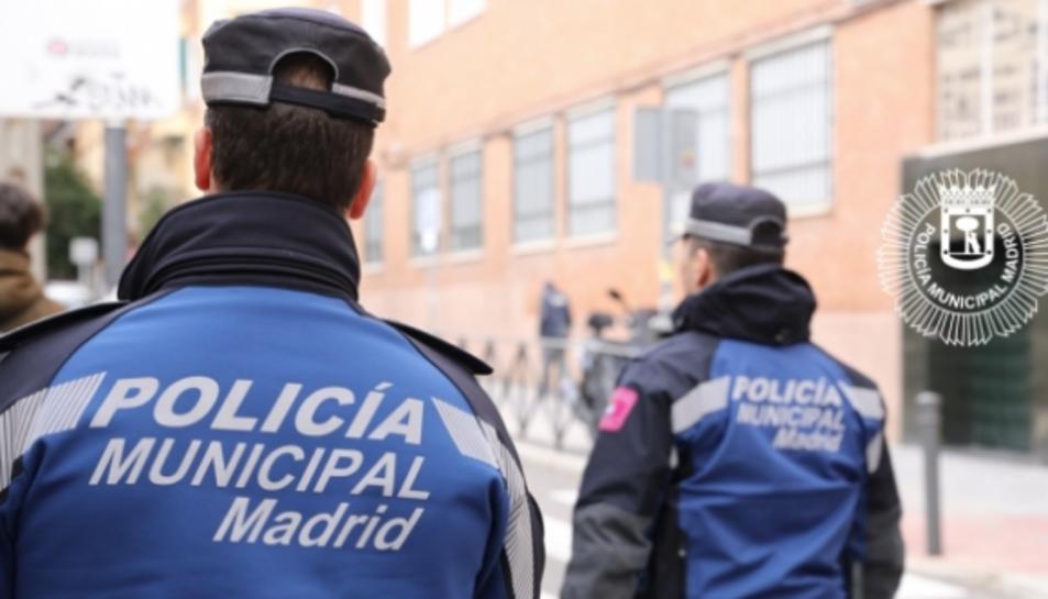 Imatge d'arxiu de la Policía Municipal de Madrid.