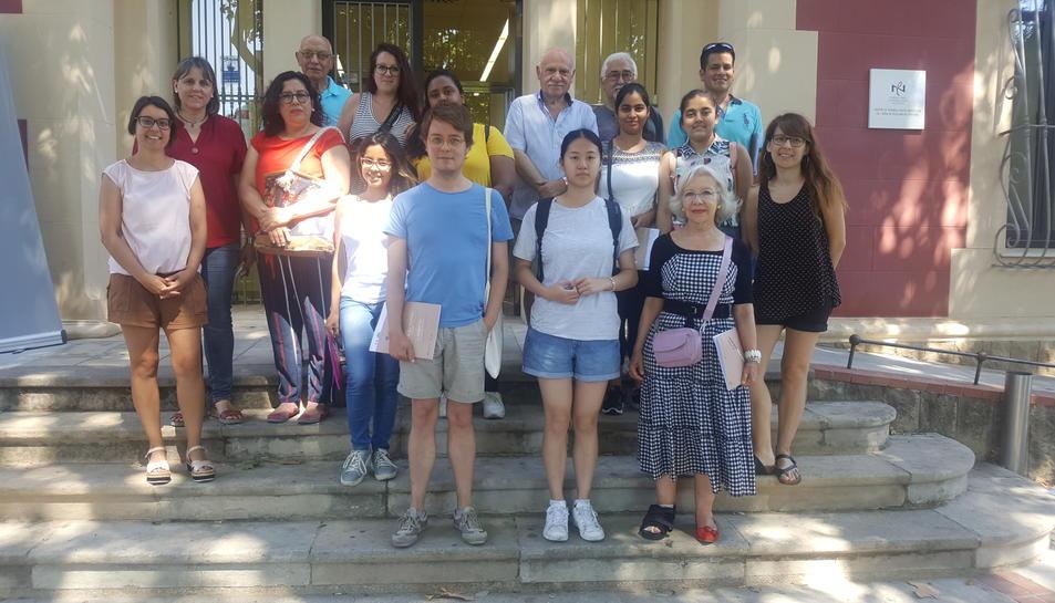 Grup de voluntaris per la llengua.