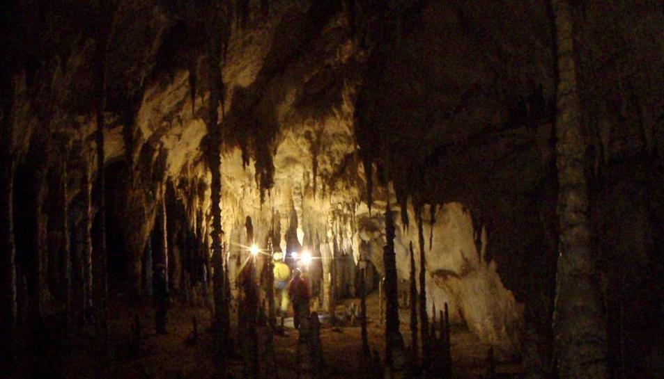 Imatge d'arxiu de la cova Cueto-Coventosa.
