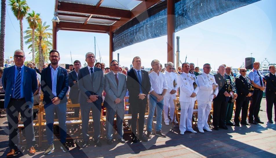 Celebració del dia de la patrona de l'Armada a Tarragona