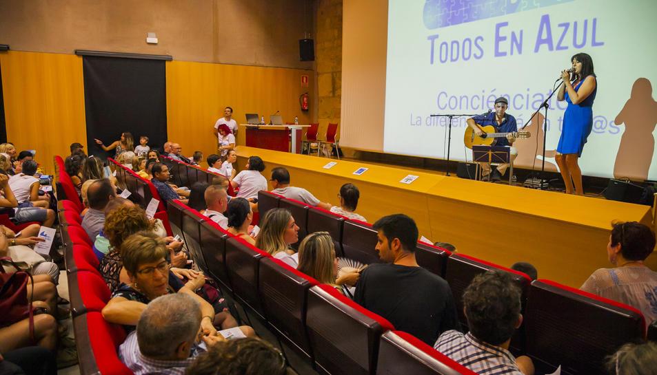 La presentació de l'associació es va fer a l'Antiga Audiència sota un ambient festiu.