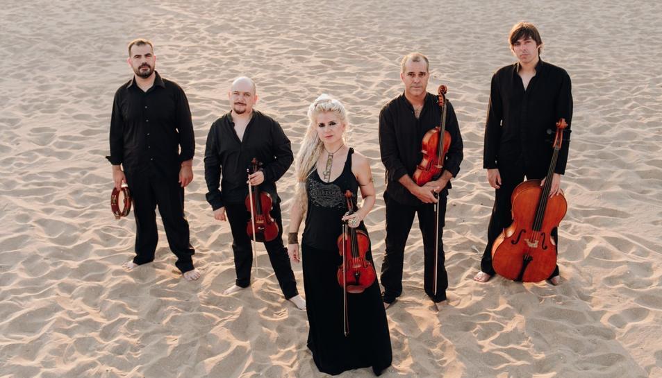 El Quintet Montsant, en una imatge promocional.