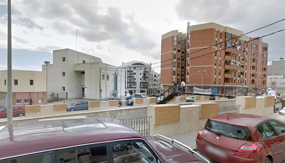 L'accident s'ha produït a la zona de l'avinguda Catalunya d'Amposta.