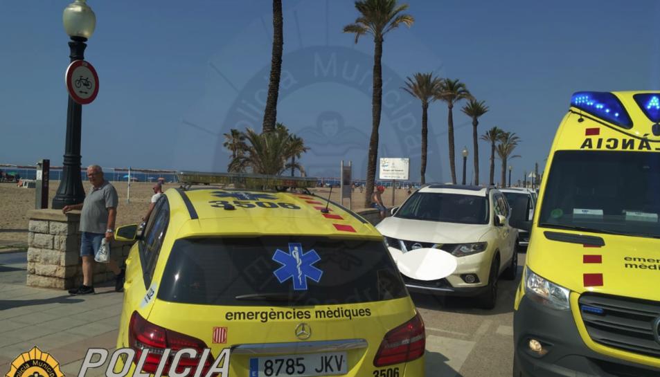Fins al lloc s'hi han desplaçat el SEM, Policia Local i Mossos d'Esquadra.