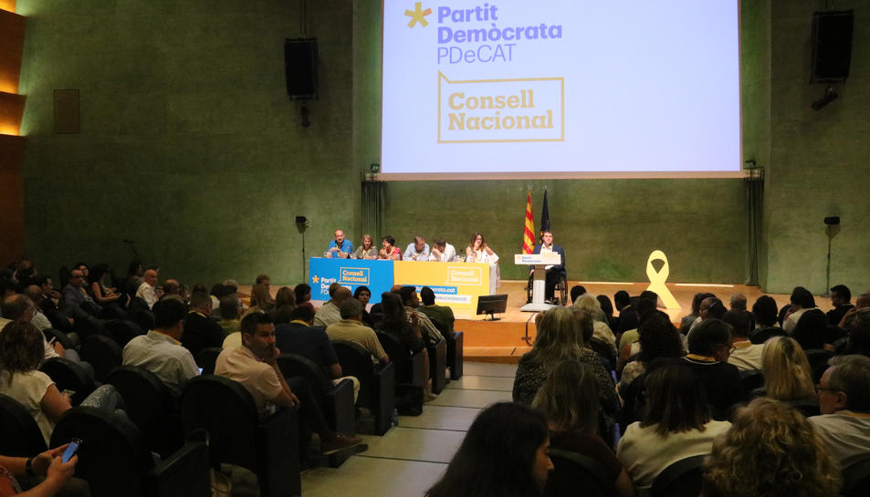 El Consell Nacional del PDeCAT a l'auditori AXA de Barcelona