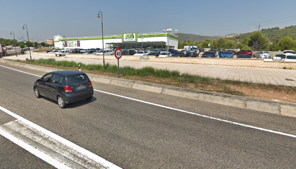 La zona on ha tingut l'accident