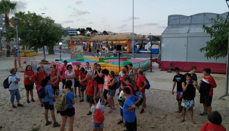 Més de 100 participants van gaudir de la ruta nocturna guiada.