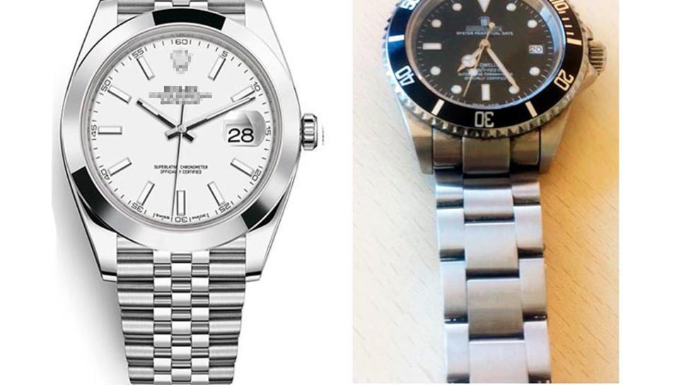 Dos rellotges