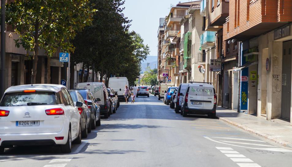 Una imatge del camí de l'Aleixar, carrer on s'han produït els fets.