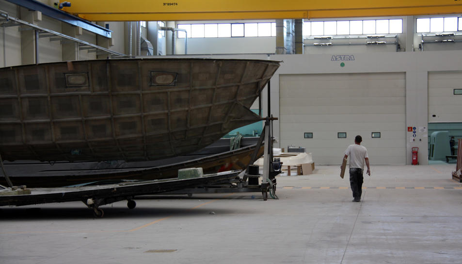 Pla general de l'interior de les instal·lacions de Lamicat en funcionament l'any 2010 en una imatge d'arxiu