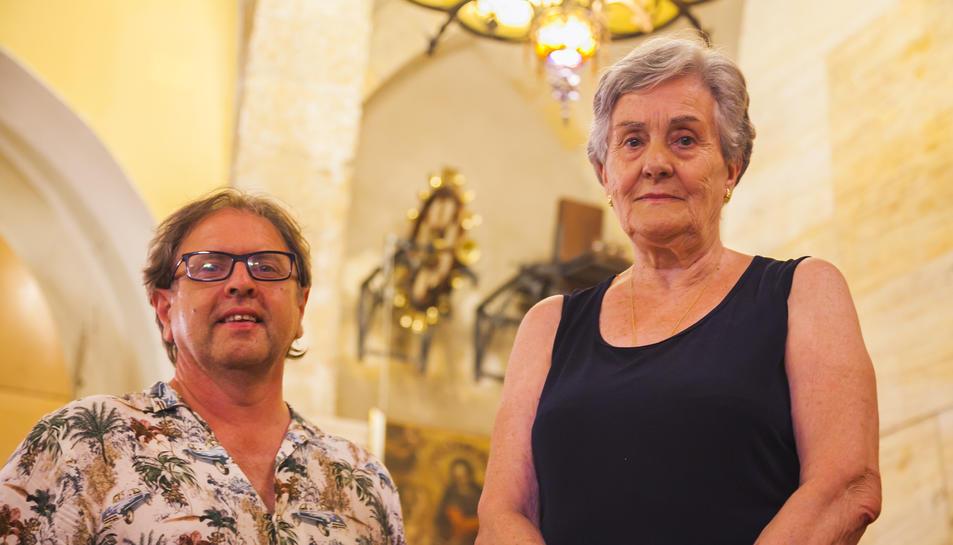 Jordi Amenós i Pilar Ortiz, del Gremi de Pagesos.