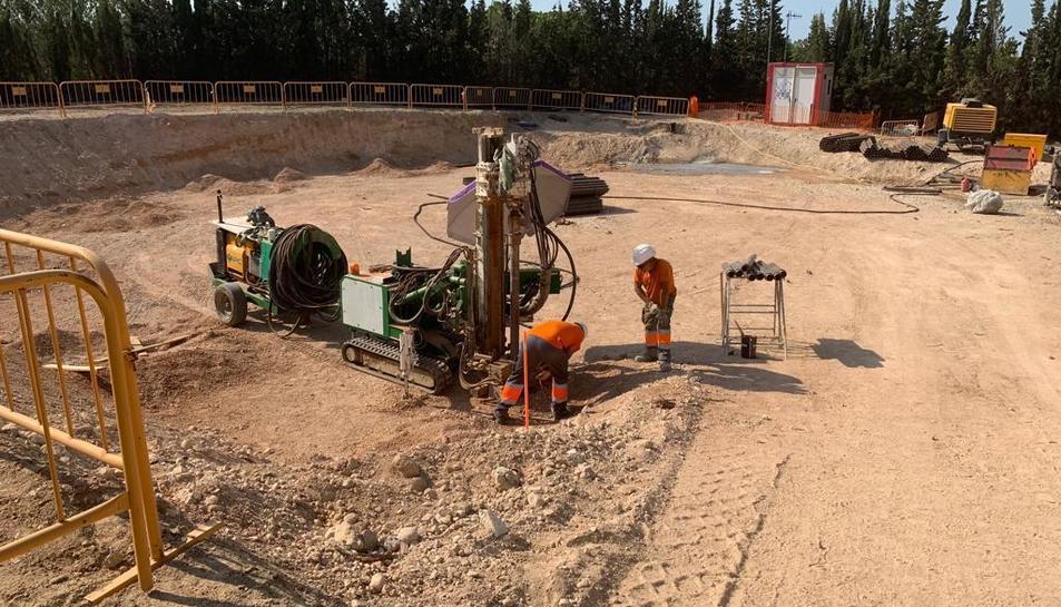 L'execució del projecte va començar el mes de juny passat i estarà acabat cap a l'octubre.
