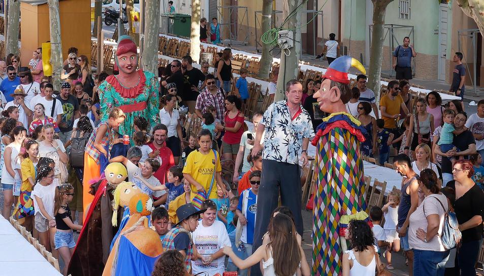 Cercavila de la Festa Major del Morell que tindrà lloc aquest cap de setmana.