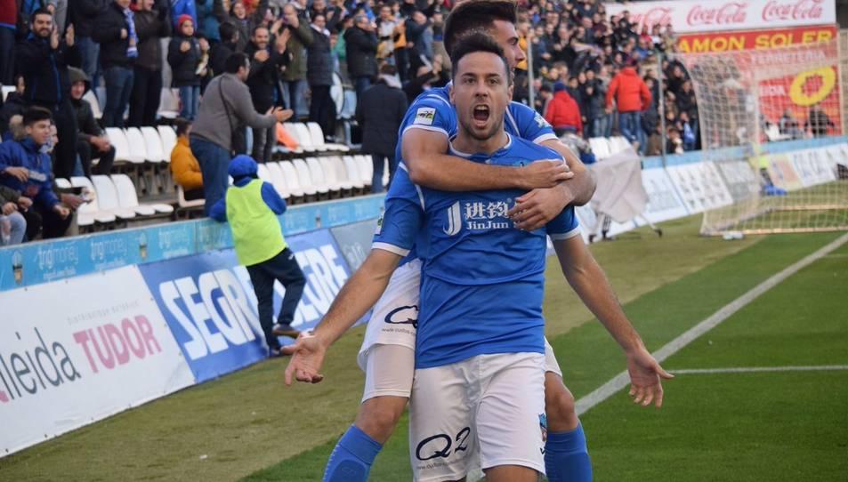Pedro Martín va ser el pitxitxi del grup tercer de Segona Divisió B amb 16 gols en 34 partits, sent una de les peces clau del Lleida.
