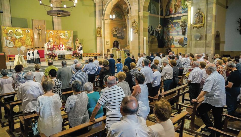 Riudoms va cloure ahir els actes de la Festivitat de Sant Jaume.