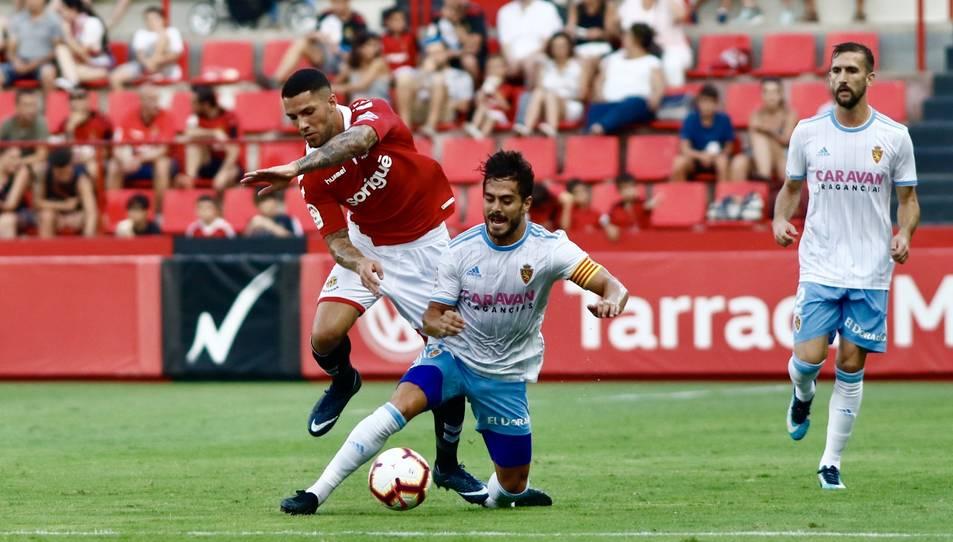 El Nàstic ja es va enfrontar al Zaragoza pel Trofeu Ciutat de Tarragona l'any passat.