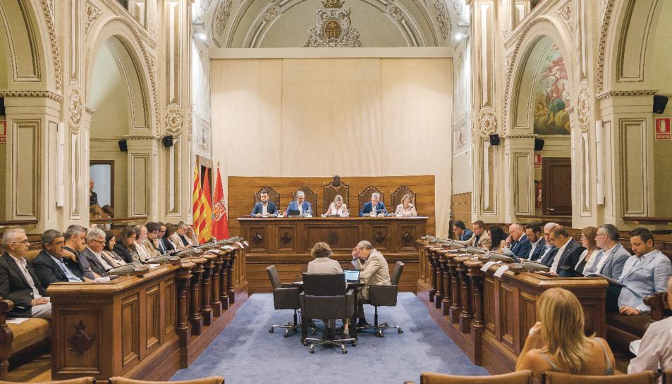 El ple de la Diputació de Tarragona, el passat 16 de juliol.
