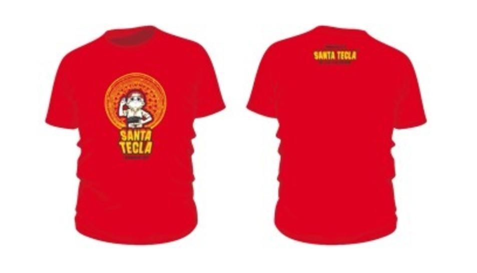 Imatge de la samarreta de Santa Tecla 2019.