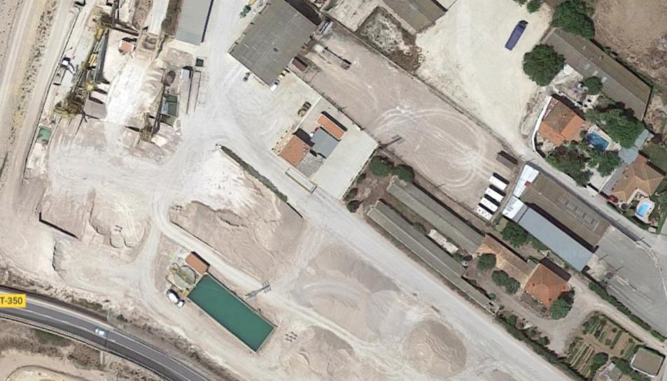Imatge de les instal·lacions de l'empresa on s'ha produït l'accident laboral.
