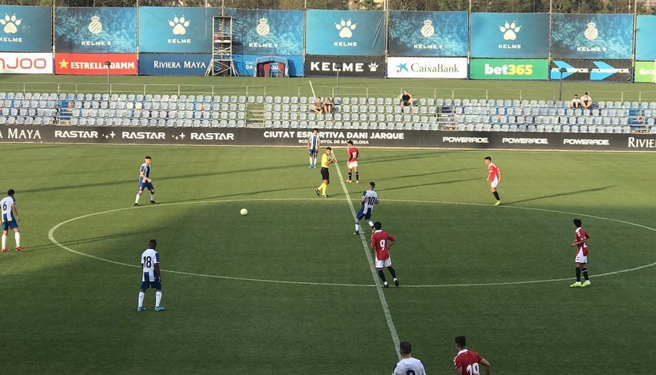 El partit ha tingut lloc a la Ciutat Esportiva Dani Jarque.