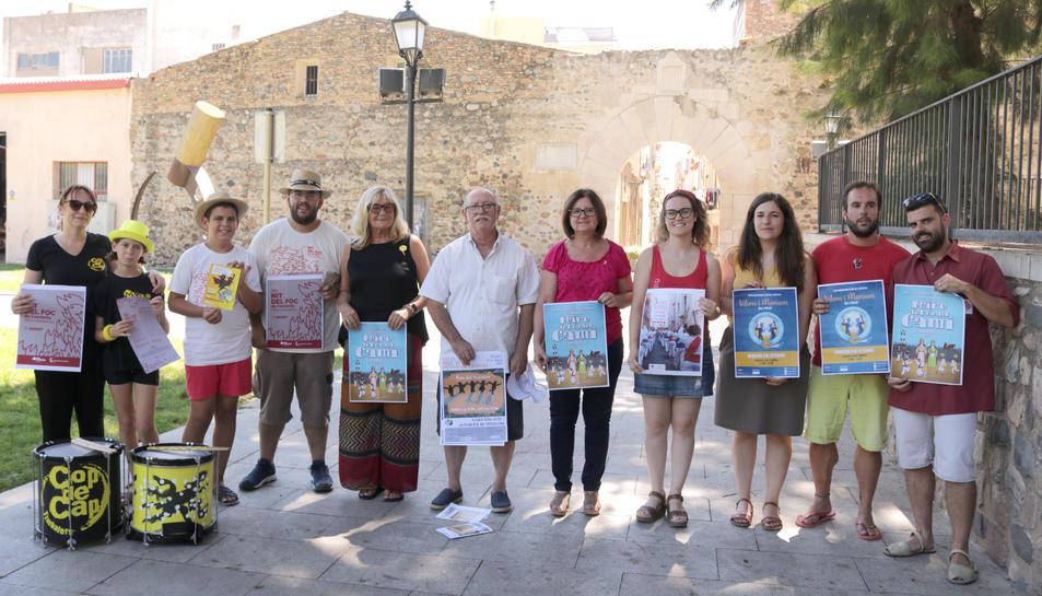 L'alcaldessa, la regidora de Festes i les entitats han presentat avui un ampli programa d'activitats del 23 d'agost al 15 de setembre.